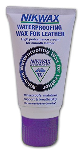 Nikwax waterproofing Wax for Leather - White, 60 ml by Nikwax ()