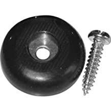 Shepherd Hardware 9644 1-Inch Surface Grip Screw On Non Slip Furniture Pads