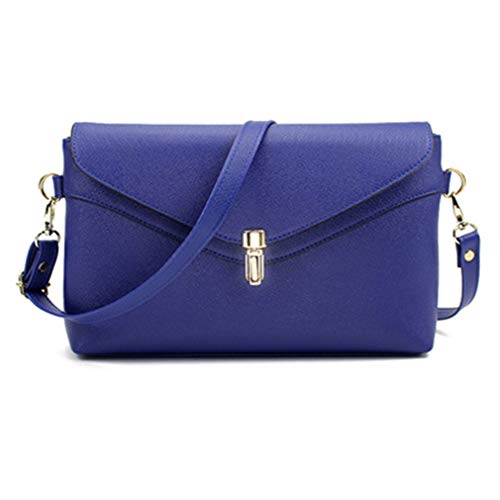 Crossbody Blue Size Sacs One Messenger à Purple bandoulière 8xqztw