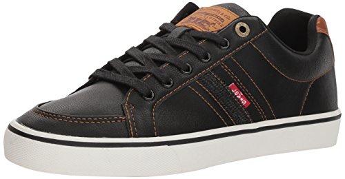 Sneakers Giris Mens Sneaker Levis Nero / Marrone Chiaro