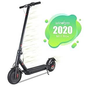 Windgoo Patinete Eléctrico Plegable E Scooter, hasta 25 km/h, Neumático de 8.5 Pulgadas