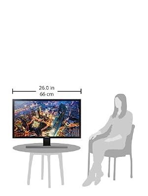 """Samsung LU28E570DS/ZA 28"""" UHD 4K LED-Lit Monitor"""