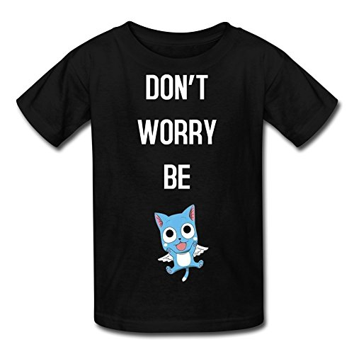 fan products of MeiLee Kid's Fairy Tail Anime Crew Neck Shirt Black M
