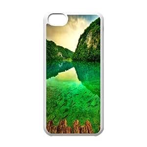 Custom Case China Wuyishan scenery For iPhone 5C Q3V623299