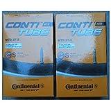 "Continental MTB 27,5"" Schlauch, 2 Stück, SV Ventil,42mm, 47-584 → 62-584 (27,5x 1.75 → 27,5x 2.5) 0182311"