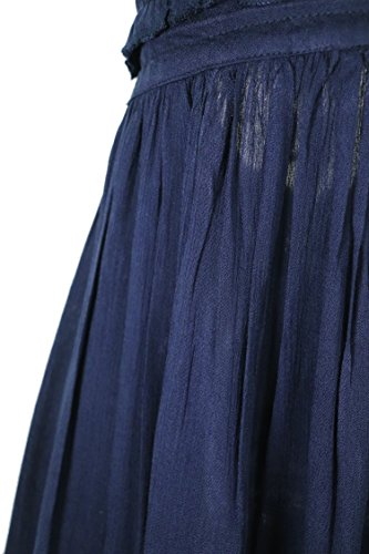 Patchwork Neck Dark Short V Sexy Deep Mini Dresses Women Halter Blue Summer R Vivimos 7w8qYS6