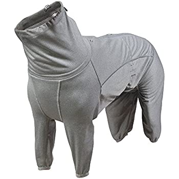 Hurtta Body Warmer Dog Body Suit, Recovery Suit, Carbon Grey, 20M