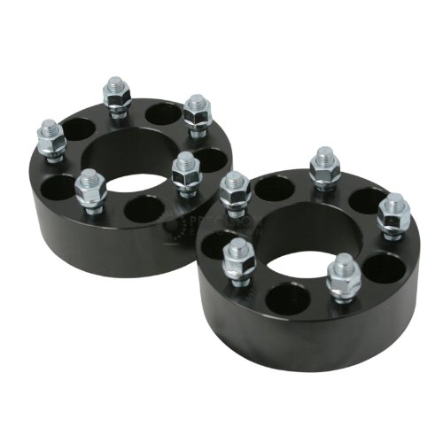 73.1mm Bore, 12x1.5 Studs 5x114.3 Wheel Spacers 50mm Check Description for Year Model Compatible with some Acura Honda Dodge Hyundai Toyota Mitsubishi Lexus Black 2pcs StanceMagic 2 inch