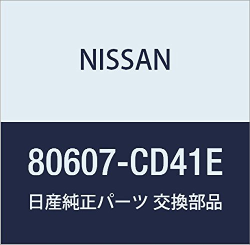 Genuine Nissan OEM 80607-CD41E HANDLE ASSY-FRONT DOOR OUTSIDE, ()