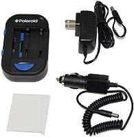 Polaroid cargador universal de baterías de litio, AA, AAA para CA/CC/USB