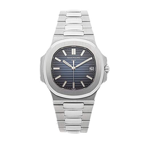 Patek Philippe Nautilus Mechanical (Automatic) Blue Dial Mens Watch 5711/1A-010 (Certified Pre-Owned) (Patek Philippe Watches Nautilus Mens Stainless Steel)