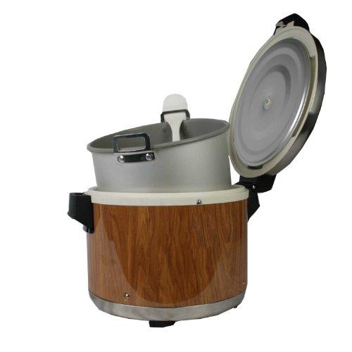 Excellante SEJ18000 Commercial Wood-Grain 30-Cup Rice Warmer