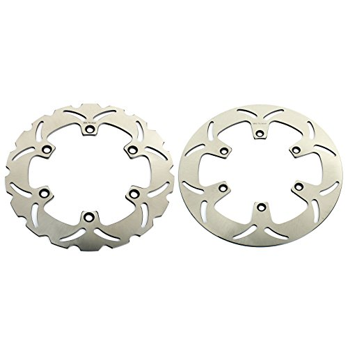 TARAZON Front Rear Brake Discs Rotors for Honda VT1100 VT1100C Shadow ACE Tourer Aero Sabre 1995-2007