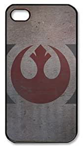 DIYcaseonline Personalized Protective Case for iPhone 4/4S - Star Wars Rebel Logo