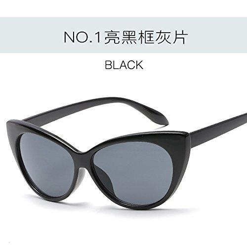 UV400 sol de sexy Vintage Tonos Gafas de C1 Retro gafas mujer de gafas femenina ZHANGYUSEN moda Gato de Ojo C4 qaIFCPw