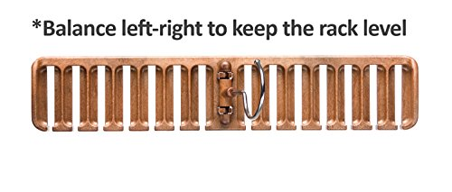 Large Product Image of Tenby Living Belt Rack, Organizer, Hanger, Holder - Stylish Belt Rack, Sturdy...