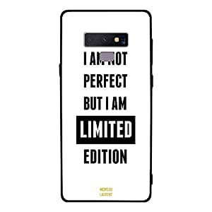Samsung Note 9 Case Cover I Am Not Perfect But I Am Limited Edition, Moreau Laurent Premium Phone Covers & Cases Design