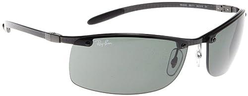 b570f2bd3 Ray-Ban Men's Tech RB8305-082/71 Gunmetal Semi-Rimless Sunglasses ...