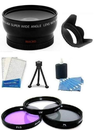 Essential Lens Accessory Kit 58MM 0.45X Professional High De