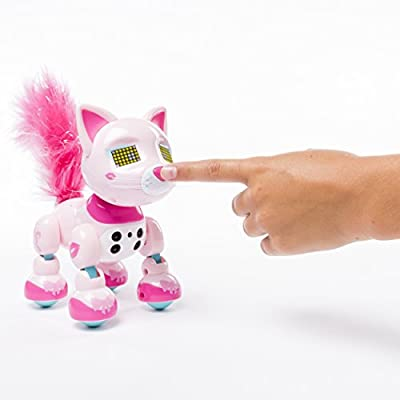 Zoomer Meowzies, Chic, Interactive Kitten with Lights, Sounds and Sensors: Toys & Games