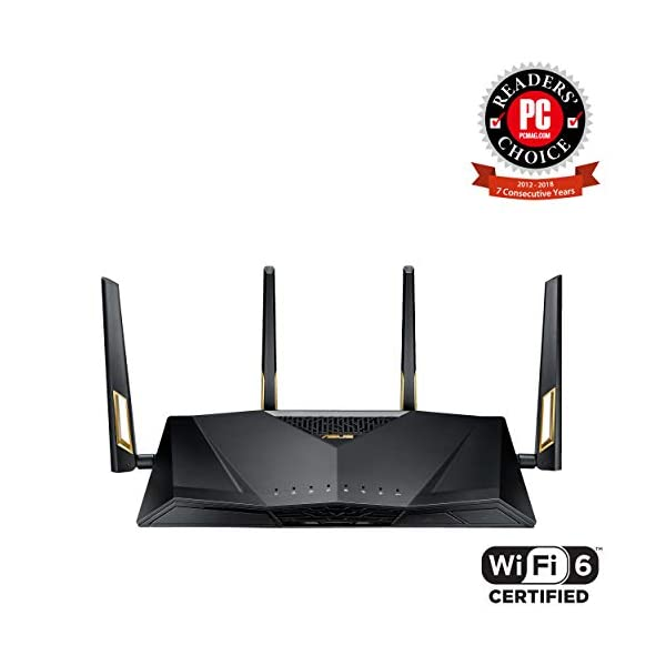 Asus RT Wifi Router Aiprotection Lifetime Security by Trend Micro
