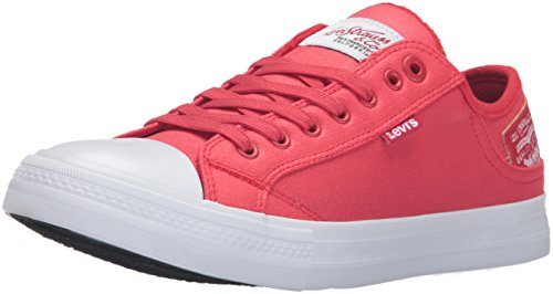 Levis Men's Stan Buck II Fashion Sneaker, Red, 9.5 M US