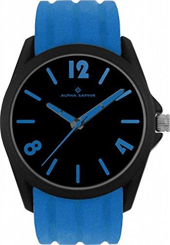 Jacques Lemans 380C - Wristwatch unisex, silicone, color: blu