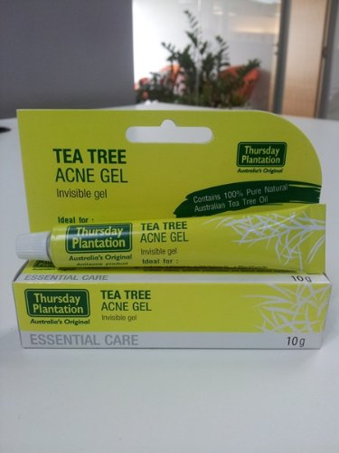 Tea Tree Medicated Gel 10 Grams Acne Deeply Penetrating to Dissolve Blackheads and Whiteheads 3pack Chain Asia KA-SE-BI0550