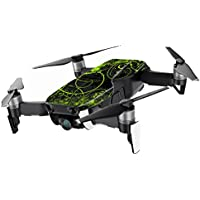 MightySkins Skin for DJI Mavic Air Drone - Green Distortion | Min Coverage Protective, Durable, and Unique Vinyl Decal wrap cover | Easy To Apply, Remove, and Change Styles | Made in the USA