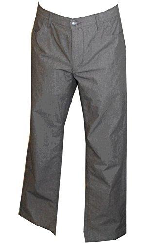 Alfani RED Slim Fit Grey Pants (38W X32L)