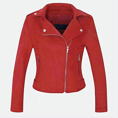 Mujeres Invierno Blazer La Cremallera Red De Las Chaqueta Wjmm azqwdHa