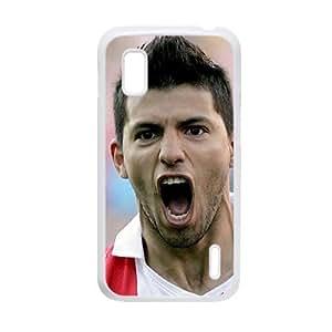 Generic Printing Sergio Aguero Hard Plastic Back Phone Cover For Boy For Lg Google Nexus 4 Choose Design 4