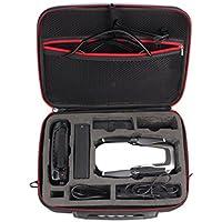 Owill Portable Compact Shoulder Bag Handbag Case Protector EVA Internal Waterproof For DJI MAVIC AIR Drone (Black)