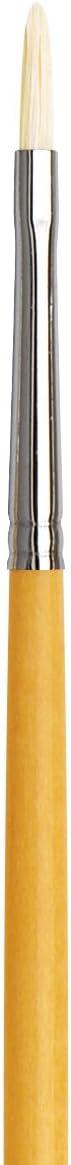Filbert XL-Length Hand-Interlocked with Natural Polished Handle da Vinci Hog Bristle Series 7900 Maestro Artist Paint Brush Size 30