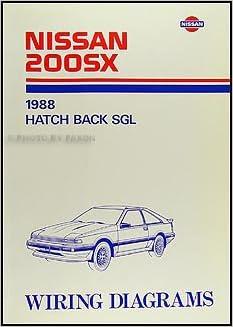 1988 Nissan 200SX Wiring Diagram Manual Original: Nissan: Amazon.com: BooksAmazon.com