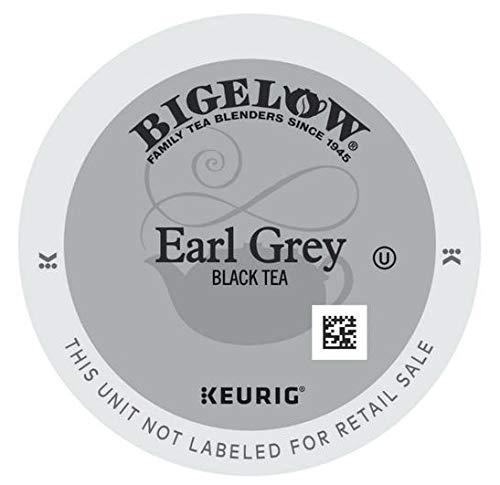 Bigelow Earl Grey Tea, 24-Count K-Cup Portion Pack for Keurig Brewers