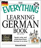 Books : Edward Swick: The Everything Learning German Book : Speak, Write, and Understand Basic German in No Time [With CD (Audio)] (Paperback); 2009 Edition