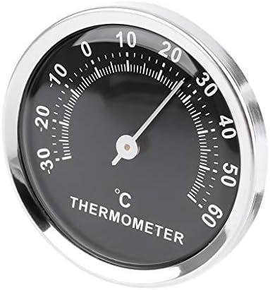 Klebriges Mini Auto Thermometer Mini 58mm Auto Thermometer Mechanisches Analog Thermometer Mit Aufkleber Von R Weichong Küche Haushalt