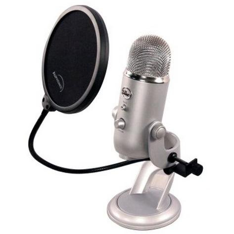 auphonix 6 inch pop filter for blue yeti microphone import it all. Black Bedroom Furniture Sets. Home Design Ideas