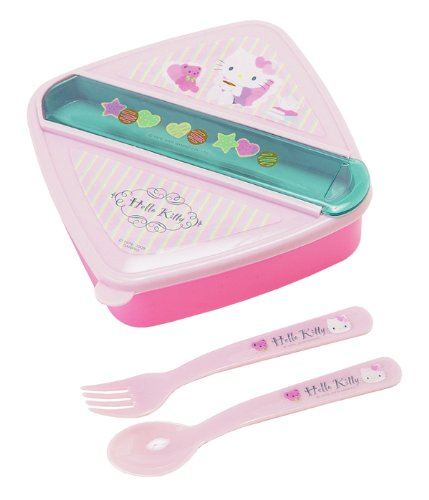 Sanrio Lunch Container (Hello Kitty with Bear)