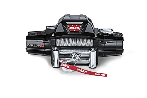 Warn 88990 ZEON 10 Winch with Wire Rope - 10000 lb. Capacity