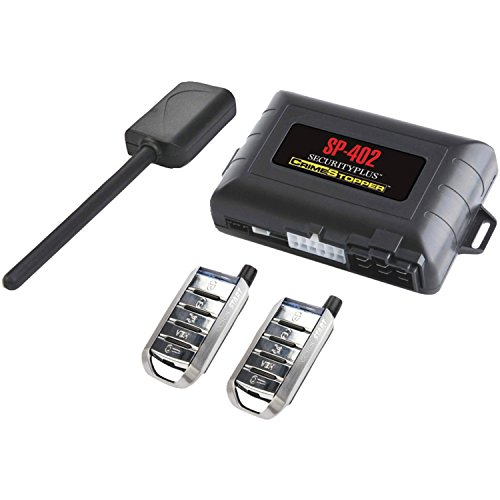Crimestopper SP-402 Car Alarm with Remote Start, Keyless Entry and Engine Disable