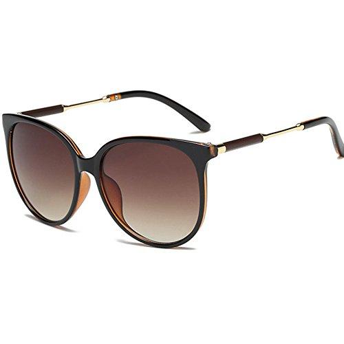 Aoligei Hommes et femmes lunettes de soleil rétro couleur lumineuse grande lunettes lunettes de soleil zl6YSi2I