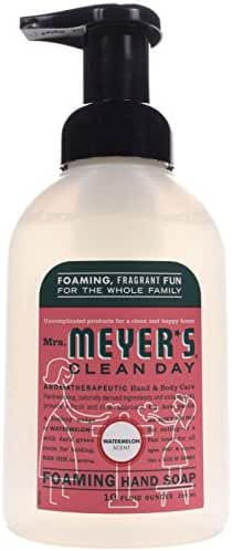 Mrs. Meyer's Foaming Hand Soap, Watermelon, 10 Fluid Ounce