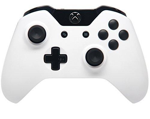 White/Black Xbox One Rapid Fire Modded Controller Pro Finish 40 Mods for COD BO3, BO2, Advanced Warfare, Destiny, Ghosts Quickscope, Jitter, Drop Shot, Auto Aim Zombie, Jump Shot, Auto Sprint, Fast Reload, Much More