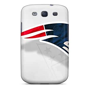 Premium New England Patriots Back Cover Snap On Case For Galaxy S3