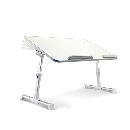 MH Mesa de la Cama - Mesa Plegable para computadora portátil Mesa ...