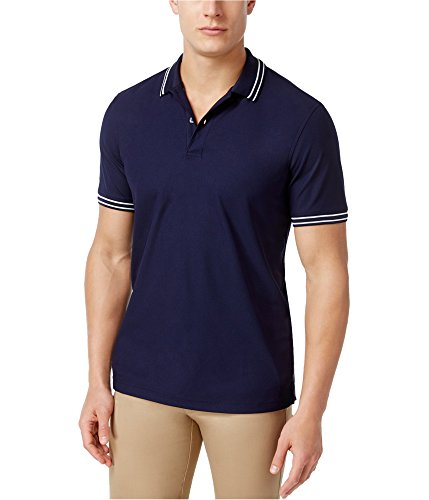 0+ Performance Rugby Polo Shirt Blue XL ()
