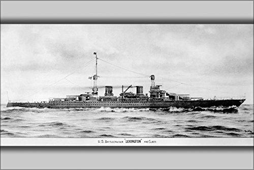 (42x63 Poster; Lexington Class Battlecruiser 1919)