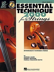 Essential Technique 2000 for Strings (Book 3) Cello - BK+CD ()